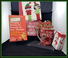 """People I Want to Punch in the Throat: 12 Days of Christmas Giveaways! DAY FOUR! """"Move the Elf! Featuring Spending the Holidays with People I Want to Punch in the Throat. Christmas Giveaways, 12 Days Of Christmas, Hot Cocoa Mixes, The Elf, Dear Santa, Drinking Tea, Happy Holidays, Punch, First Love"""
