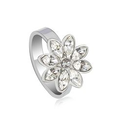 Alibaba China Beautiful Engagement Rings, Snowflake Jewelry Purity Rings