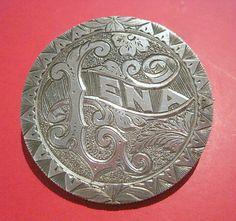 Lena 1884 Morgan Dollar Love Token Pin | eBay