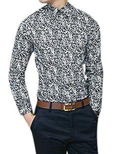 Herren Knopfverschluss Floral Prints Nummer Kragen Slim Fit Shirts Sourcingmap http://www.amazon.de/dp/B00U3CUFIW/ref=cm_sw_r_pi_dp_Rjudxb1KPXEYA