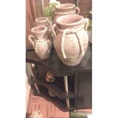 juego de jarrones decorativos