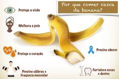 Casca da Banana é rica em Fibras e Cálcio