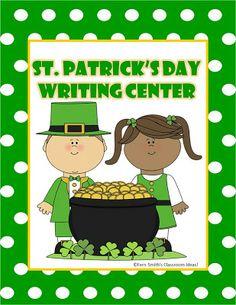 Classroom Freebies: Fern Smith's St. Patrick's Day Writing Center!