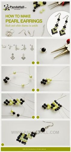 aretes de perlas con pap