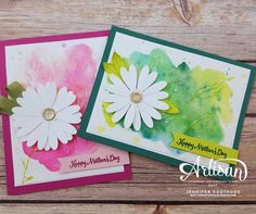 """Gefällt 28 Mal, 2 Kommentare - Jennifer Sootkoos (@sootywingstudios) auf Instagram: """"Mother's day cards featuring Daisy Delight #sootywingstudios #stampinup #stampinupdemonstrator…"""""""