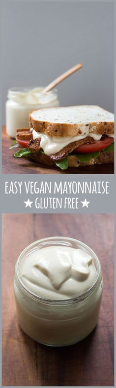 An easy, five-minute eggless mayonnaise with a silken tofu base that's smooth, creamy and everything a good mayonnaise should be. Only 1.6g of fat per serve.