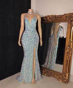 Black Girl Prom Dresses, Senior Prom Dresses, Pretty Prom Dresses, Glam Dresses, Prom Outfits, Hoco Dresses, Mermaid Prom Dresses, Girls Dresses, Stunning Prom Dresses