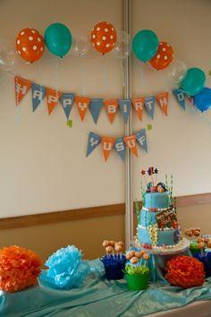 nemo birthday party ideas | Finding Nemo Themed Party! | Zanubi Days