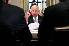 Vice President Joseph R. Biden Jr. meeting in January with video game industry executives, a response to the Sandy Hook school shooting. Go to related article »