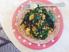 tofu scramble | fourthandolive.com