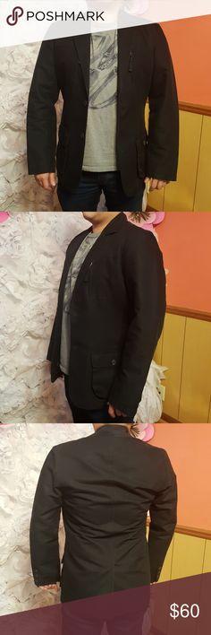 Black Blazer worn 2 time..  very new. Lucky Brand Suits & Blazers Sport Coats & Blazers