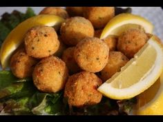 Fish Balls Recipe. - YouTubeHad something like these once at a restaurant in Atlanta... they were so delicious!! I have been looking for something like this and the place had an AMAZING pepper sauce i will prob never be able to find!!