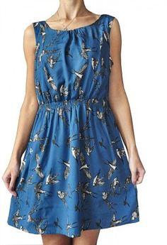 NEW LOOK - CUDNA  SUKIENKA W PTASZKI BIRDS - 40 Casual, Dresses, Fashion, Vestidos, Moda, Fashion Styles, Dress, Fashion Illustrations, Gown