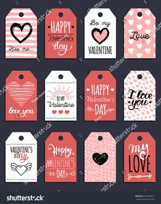 Vector Valentines Cards Templates Hand Drawn Stock Vector (Royalty Free) 370359575 Vector Valentine'S Cards Templates. 12 Saint Valentine'S Labels Or Posters. Valentines Day Funny, Valentine Day Cards, Valentine Gifts, Walmart Valentines, Valentine Poster, Valentines Day Clipart, Love Posters, Sinful Colors, Valentine's Day Quotes