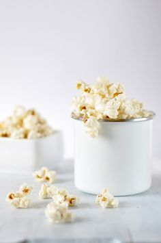 Homemade Butter Popcorn:
