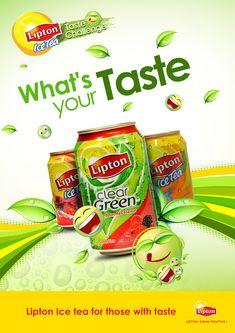 Lipton Ice Tea on Behance