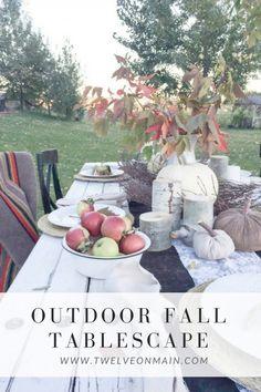 Outdoor Fall Tablesc