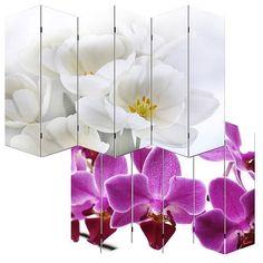 PAR1 Paravan despartitor cu model deosebit: Orhidee http://www.emobili.ro/cumpara/par1-paravan-despartitor-imprimat-ambele-parti-gama-orhidee-13 #eMobili