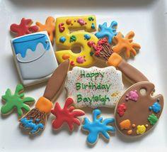 Artist's Cookie Set