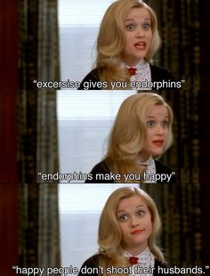 "DO: Prove your points with enthusiasm and a pop of red lip. | The DO's And DONT's Of Law School, According To ""Legally Blonde"""
