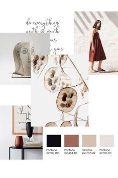 New Fashion Design Layout Mood Boards Color Palett Indesign Presentation, Good Presentation, Web Design, Layout Design, Web Layout, Mood And Tone, Concept Board, Fashion Portfolio, Layout Inspiration
