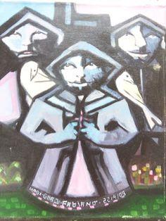Arte e Poesia: Pintura primitivista: Franciscanos : óleo s/ tela ...