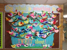 Tweet bulletin board