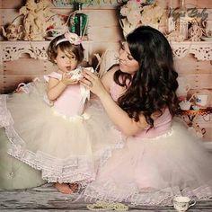 Mother/daughter matching tutus