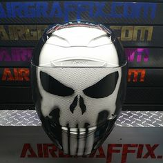 Custom Airbrushed Motorcycle Helmet by Airgraffix.com 023