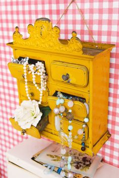 Happy yellow drawers