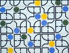 Athos Bulcão - Painel de azulejos, Embaixada do Brasil em Buenos Aires, 1989.