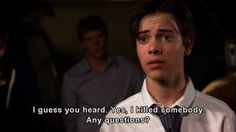 Shane Botwin - BEST t.v. character ever!! At least untill season 7 and 8 where he went down hill due to lack of good writing. and effort on the writers parts .