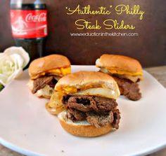 Philly Steak Sliders