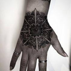 Mandala Hand Tattoo By Nissaco Tatau   http://tattoos-ideas.net/mandala-hand-tattoo-by-nissaco-tatau/