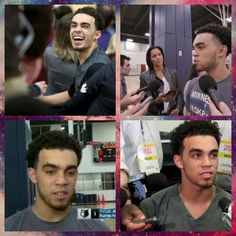 Tyus Jones, Colleges, Baseball Cards, Sports, Fictional Characters, Hs Sports, University, Fantasy Characters, Sport