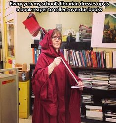 Best Librarian Ever... Though the library ladies at Southridge come in at a very close second!