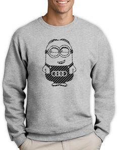 About the sweatshirt Our designs are printed on to High quality sweatshirt for the best fit, feel and durability we can find. Quarter turned to eliminate centre crease. If you want a baggy t shirt then buy the size up. Cute Sweatshirts, Hoodies, Graphic Sweatshirt, T Shirt, Funny Cute, Carbon Fiber, Minions, Audi, Active Wear