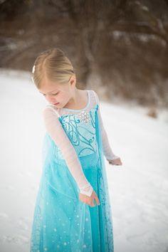 Anna & Elsa Frozen Eiskönigin Glitzer Funkel Stiefel 28