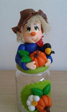 polymer clay jars