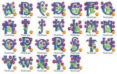 Vine Monogram, Monogram Alphabet, Embroidery Files, Machine Embroidery, Kids Rugs, Floral, Kid Friendly Rugs, Florals, Flower