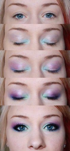 Mermaid eyeshadow