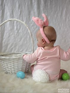simple infant bunny costume