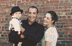 modern styled family photos