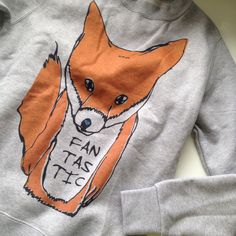 FOX SWEATER MR fantrastiuc orange Extra small print sweatshirt womens mens unisex xs face animal Jumper gift idea christmas uk 8 tail cute by TEEsaurus on Etsy https://www.etsy.com/listing/210949898/fox-sweater-mr-fantrastiuc-orange-extra