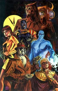 Watchmen by Dan Brereton. Now widely regarded as a major work of postmodern…
