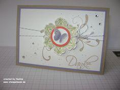 Dankeskarte Stampin Up Thank You Card Greeting Card
