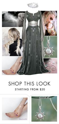 """""""Wife of Thranduil // frodo"""" by the-fellowship-of-the-ring ❤ liked on Polyvore featuring NOVICA and Potterheadfashion"""