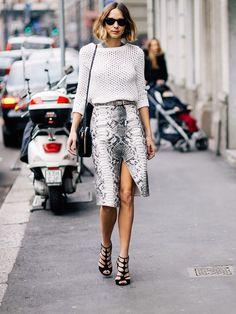 Women's fashion | Glamorous street style