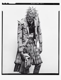 Cameron Handley photographed by Stefani Pappas and styled by Andrew Mukamal with pieces from Thom Browne Fall/Winter 2012 collection, for the Winter 2012 issue of Husk magazine.