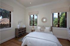 Anna Kournikova's Miami beach home guest bedroom.